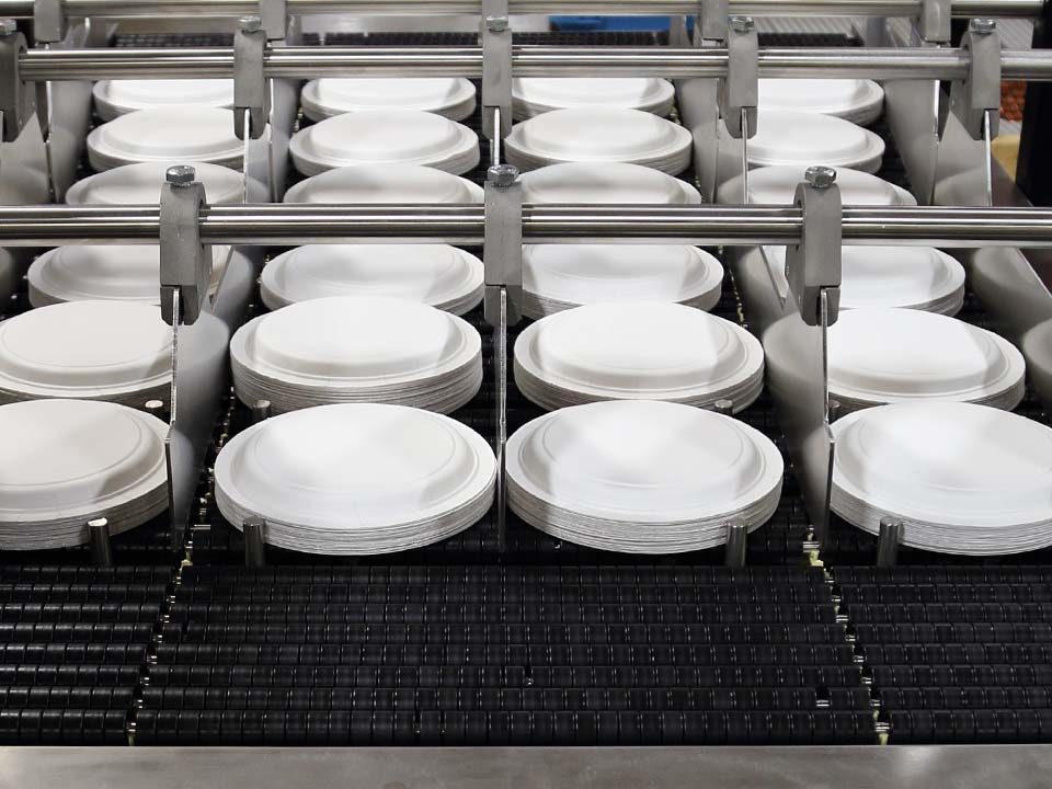 Paper Plates & Paper Plates Conveyors u0026 Paper Products Material Conveying Systems