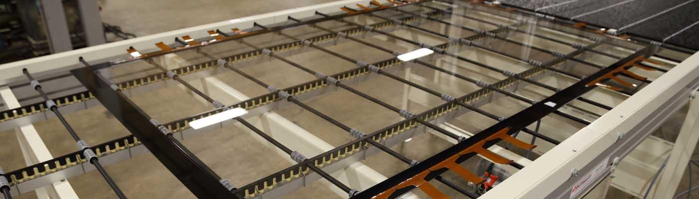 Banner electronics touch panel conveyor