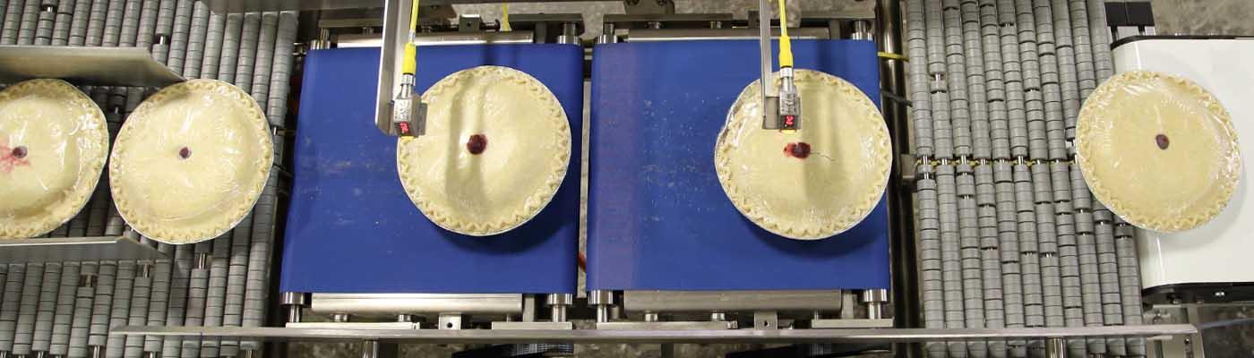Banner food pie indexing servo