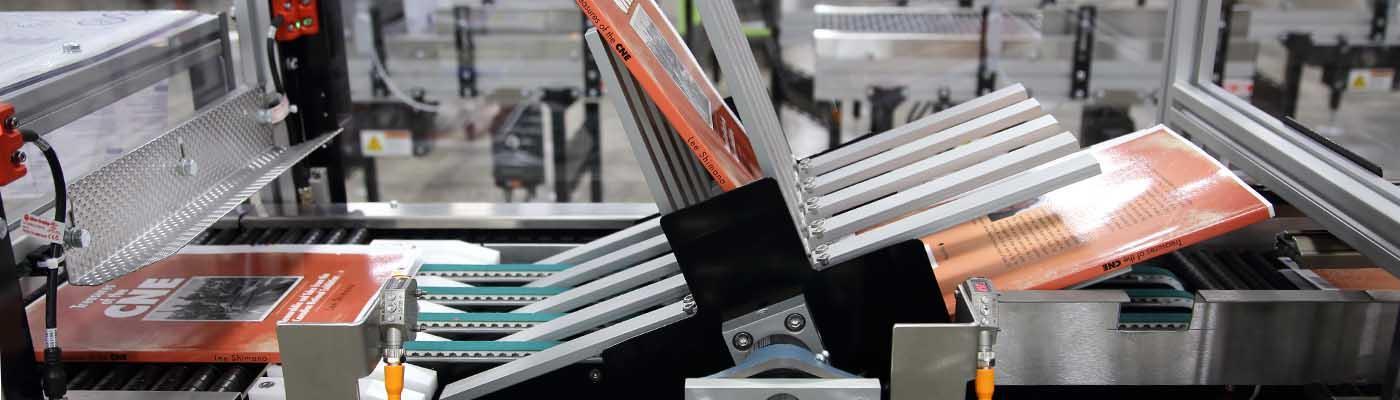 Banner printing book flipper rotator